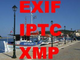 EXIF IPTC XMP Daten