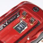 microSD-Karte -Speicherort für GPS Kartenmaterial