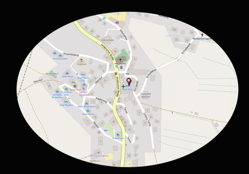 GeoSetter Kartenanzeige