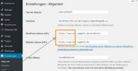 Umstellung auf HTTPS auf der kompletten WordPress Webseite aktivieren