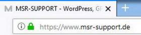 Umstellung auf HTTPS -HTTPS Symbol