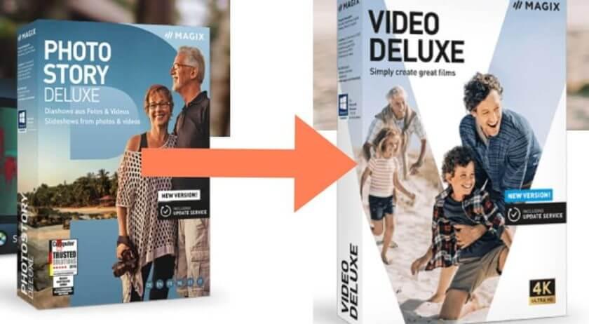 Konvertierung von Magix Fotos nach Magix Video