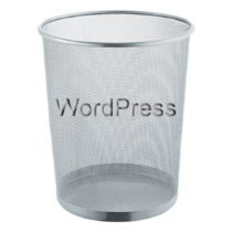 WordPress Papierkorb